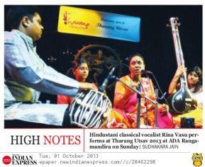 Thrang Utsav 2013 Write Up Indian Express